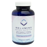 Relumins Advance Nutrition Skin Support Complex for Max Benefits for Firmer Looking Skin - 120 capsules