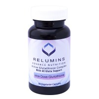 Relumins Advance White Active Glutathione Complex - Oral Whitening Formula Capsules with 6X Boosters- Whitens, Repairs & Rejuvenates Skin