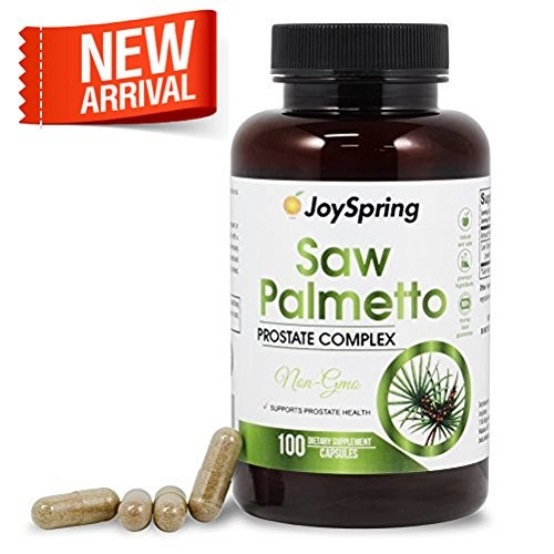 Saw Palmetto Capsules for Hair Loss and Prostate Health - Best Extract &  Berry Powder Supplement to Stop Frequent Urination and Block DHT - Natural