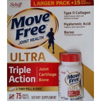 Schiff Move Free Ultra 75 Coated Tablets