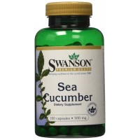 Swanson Sea Cucumber 500 mg 100 Capsules for Healthy Joints Support