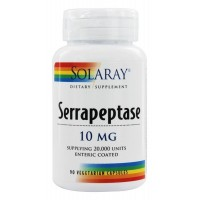 Serrapeptase 10mg Solaray 90 VCaps