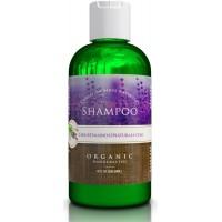 Shampoo, Organic and 100% Natural for All Hair Types (Dry, Oily, Curly or Fine) 237 ml. For Men and Women. Sulfate Free, No Harmful Chemicals. By Christina Moss Naturals