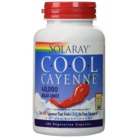 Solaray - Cool Cayenne, 600 mg, 180 capsules
