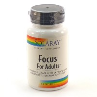 Solaray - Focus for Adults - 60 capsules