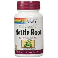 Solaray Nettle Root Extract Supplement, 300mg, 60 Count