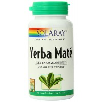 Solaray Yerba Mate Supplement, 450mg, 100 Count