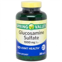 Spring Valley Glucosamine Sulfate, 1000 mg, 200 tablets