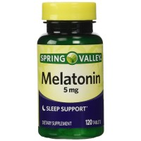 Spring Valley Melatonin 5mg Twin Pack (Two 120ct bottles)