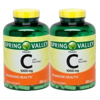 Spring Valley - Vitamin C 1000 mg with Rose Hips, 500 Tablets