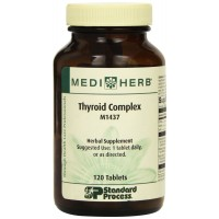 Standard Process - Mediherb - Thyroid Complex 120T