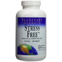 Stress Free Calm Formula Planetary Herbals 180 Tabs