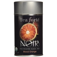 Tea Forte Noir BLOOD ORANGE Organic Loose Leaf Black Tea, 2.82 Ounce Tea Tin