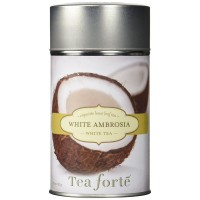 Tea Forte WHITE AMBROSIA Loose Leaf White Tea, 3.5 Ounce Tea Tin