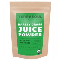 Terrasoul Superfoods Barley Grass Juice Powder (Organic), 6 Ounce