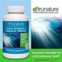 TruNature Triple Strength Omega-3 900 mg - 150 Enteric Coated Softgels