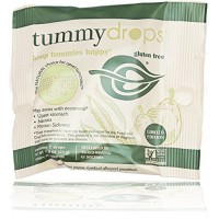 Tummydrops 7 Count Convenience Bags (4 Bags of Cardamom Pear Chai Spice)