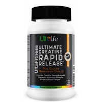ULTIMATE Creatine Monohydrate Capsules--Rapid Release Powerful Fuel for Going Longer & Harder to Increase Strength, Power & Beat Fatigue--Accelerates Recovery from Exercise--120 Capsules. Satisfaction Guaranteed.