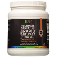 ULTIMATE Creatine Rapid Release Powder ? Pure Creatine Monohydrate ? Powerful Fuel for Going Longer & Harder to Increase Strength, Power & Beat Fatigue ? Accelerates Recovery from Exercise ? 120 Servings ? Backed By Our 100% Satisfaction Guarantee