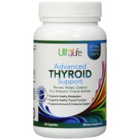 UltaLife #1 Best Advanced THYROID Support Supplement - Your Best Thyroid Helper To Tackle Tough Symptoms - Boosts Your Metabolism, Naturally Increases Energy - Helps Promote Weight Loss, Improves Mood Swings & Supports Immune Function