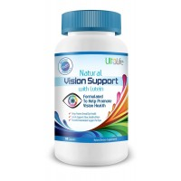 UltaLife's #1 BEST Natural Vision Support with Lutein is Formulated to Help Promote Vision Health and Provides Powerful Antioxidant Support for Your Eyes - 100% Satisfaction Money Back Guarantee