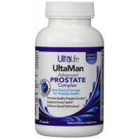 UltaLife's #1 Rated Best Advanced Prostate Health Supplement - Proprietary Formula Includes Nature's Remarkable Herb, Saw Palmetto + Beta-Sitosterol & More - 100% Satisfaction Money Back Guarantee