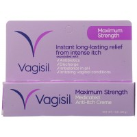 Vagisil Maximum Strength Anti-Itch Crème - 1 oz (Pack of 4)
