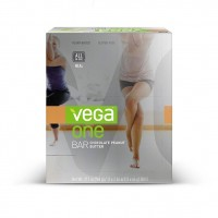 Vega One All-in-One Meal Bar, Chocolate Peanut Butter, 2.26oz Bars, 12 Count