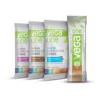 Vega One Nutritional Shake and Bar Variety Pack, 4 Count