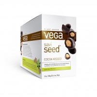 Vega SaviSeed, Cocoa Kissed, 12 Count (Vegetarian Omega 3)