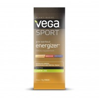 Vega Sport Pre-Workout Energizer, Lemon Lime, 12 Count
