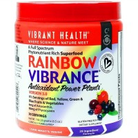 Vibrant Health - Rainbow Vibrance Superfood - A Full Spectrum Phytonutrient Rich Superfood, 30 servings (FFP)
