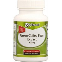 Vitacost Green Coffee Bean Extract 400 mg - 60 Vegetarian Capsules