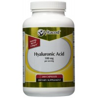 Vitacost Hyaluronic Acid with BioCell Collagen II -- 100 mg per serving- 240 Capsules