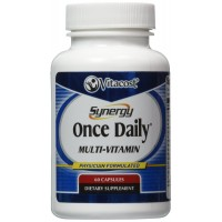 Vitacost Synergy Once Daily Multi-Vitamin 60 Capsules