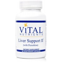 Vital Nutrients - Liver Support II (with Picrorhiza) - Herbal Combination to Support Healthy Liver Function - 60 Capsules