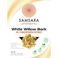 White Willow Bark Extract Powder (4oz / 114g) 20:1 Concentrated Extract - Herbal Pain Reliever, Anti-Inflammatory, Arthritis, Joint Support