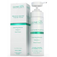 Genesea Witch Hazel Toner For All Skin Types Alcohol Free Supercharged With Vitamin C and Aloe Vera