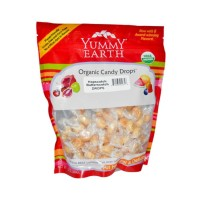 YumEarth Organic Candy Drops Hopscotch Butterscotch 13 oz. family size bag (approximately 115 count)