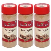 The Spice Club Dry Ginger Powder 55gm Pet Jar- (pack Of 3)