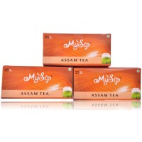 Mysip Assam Tea (25Bags) 50Gm- (Pack Of 3)