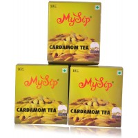 Mysip Cardamom Tea (Dip Tea-10 Bags) 20Gm - (Pack Of 3)