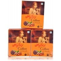 Mysip Coffee With Almond 100Gm- (Pack Of 3)
