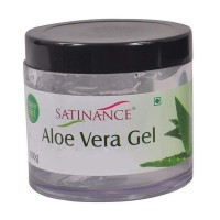 Satinance Aloe Vera Gel 100g (100% Natural, No Added Perfumes)