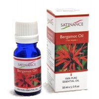 Satinance Bergamot Oil -10ml (100% Pure Essential Oil, Aromatherpy Oil, For Diffuser)