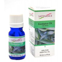 Satinance Eucalyptus Oil -10ml (100% Pure Essential Oil, Aromatherpy Oil, For Diffuser)