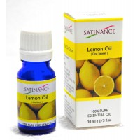 Satinance Lemon Oil -10ml (100% Pure Essential Oil, Aromatherpy Oil, For Diffuser)