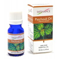 Satinance Patchouli Oil -10ml (100% Pure Essential Oil, Aromatherpy Oil, For Diffuser)