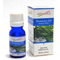 Satinance Rosemary Oil -10ml (100% Pure Essential Oil, Aromatherpy Oil, For Diffuser)