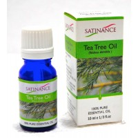 Satinance Tea Tree Oil -10ml (100% Pure Essential Oil, Aromatherpy Oil, For Diffuser)